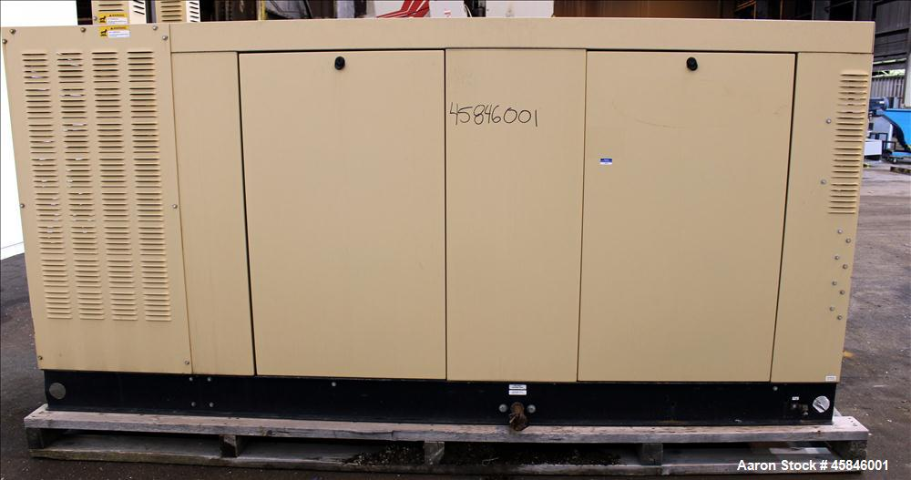 Used- Generac 150 kW standby natural gas generator set, model QT15068GNSN, SN-4349093. Ford 6.8L V-10 engine rated 254 HP at...