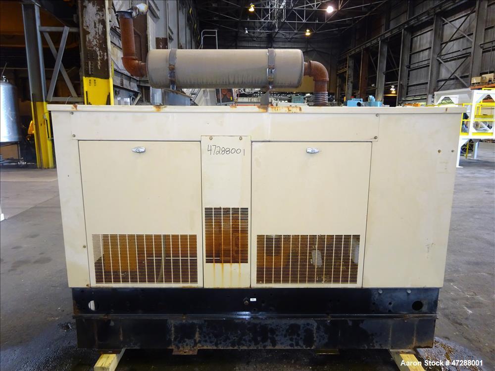 Used- Generac 60 KW Diesel Generator set, Model SD060.