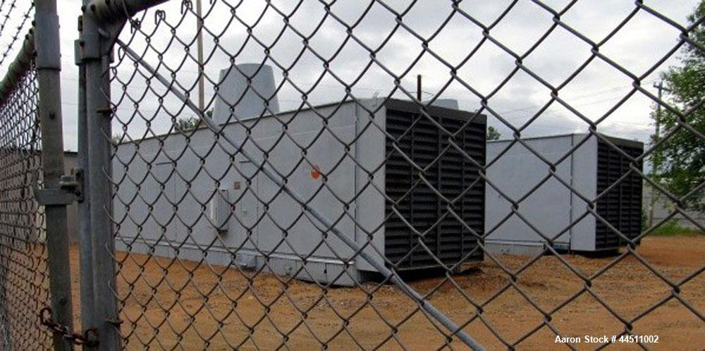 Used- General Motors 2000 kW Diesel Generator Set.  EMD Model 16-567-FD4 engine, rated 2875 hp @ 900 rpm, serial #70-M3-1122...