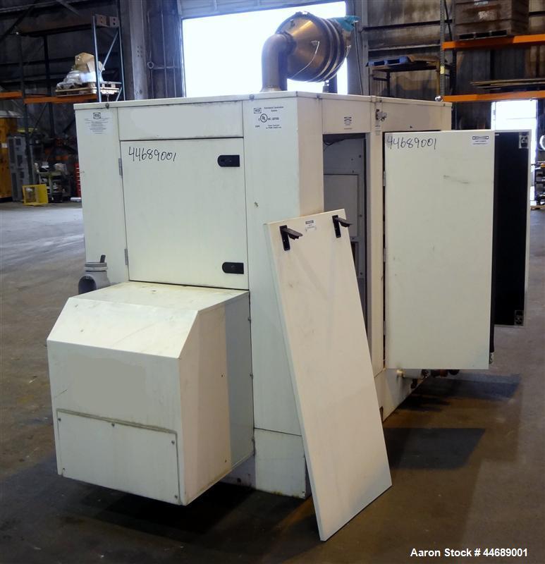 Used- Hess / Daewoo 220 kW natural gas generator. Daewoo model GE12TI engine.