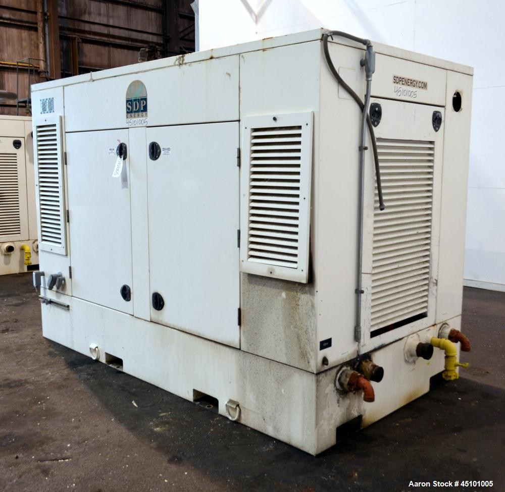 Used- Hess Microgen / Doosan 400 kW Continuous Rated Natural Gas Generator Set