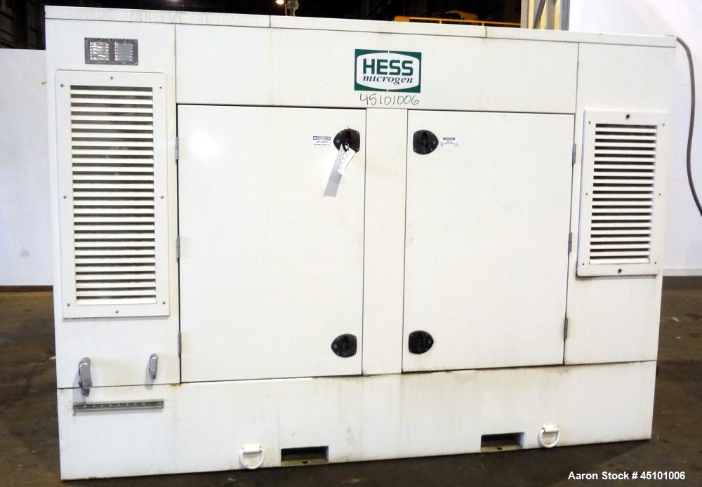 Used-Doosan 400 kW Natural Gas Generator Set, Continuous Rated Packaged by Hess
