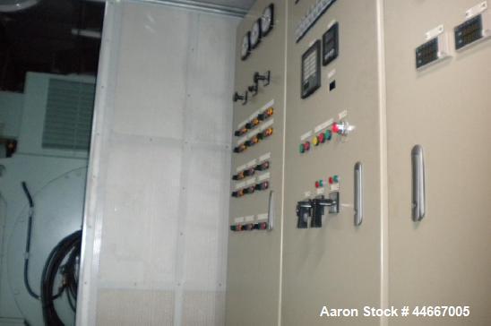 Unused-Hyundai HFP Power Generator 1.4 mW, 60 Hz.  Equipped with a Hyundai 9H21/32 HFO engine, 1400 kW, 4160V, 60 Hz, 900 rp...