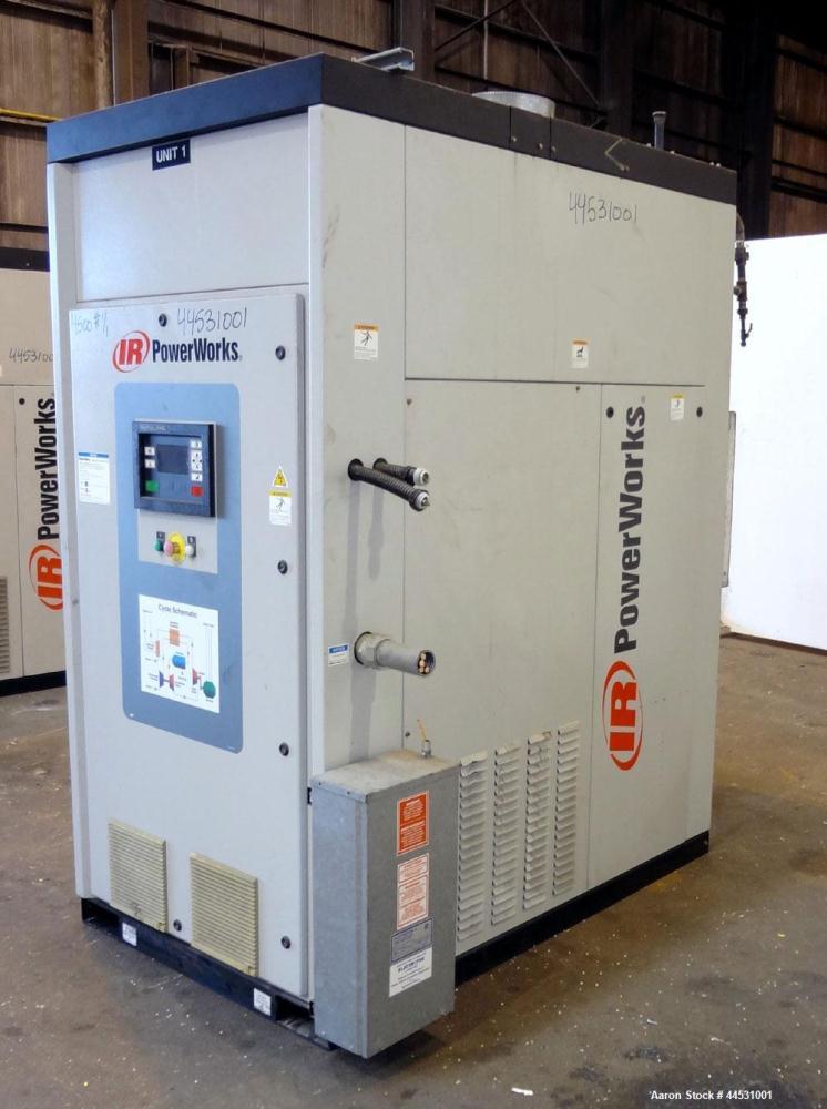 Used- Ingersoll-Rand PowerWorks 70 kW Microturbine / Peak Shaving Natural Gas Generator Set, Model 70LM, Serial #PW00170D010...