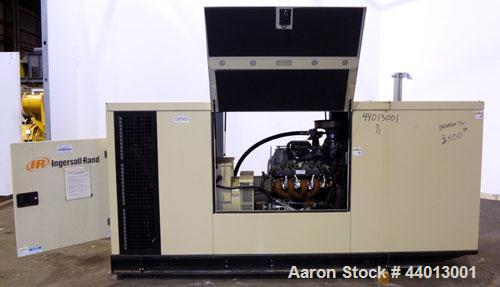 Used- Ingersoll Rand 80 kW Standby (68 kW Prime) Natural Gas Generator Set. IR Model N80, Serial 350811UK0A41. GM Vortec 8.1...