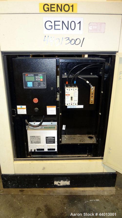 Used- Ingersoll Rand 80 kW Standby (68 kW Prime) Natural Gas Generator Set. IR Model N80, Serial 350811UK0A41. GM Vortec 8.1...