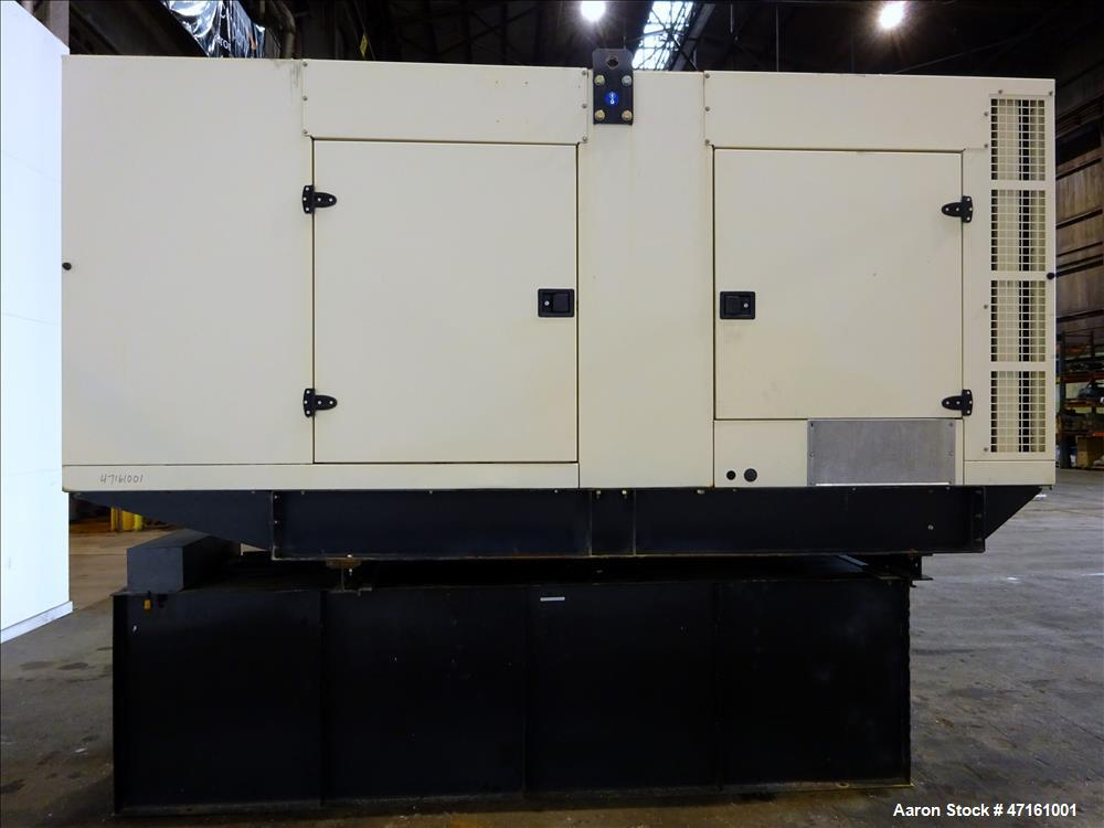 Used- John Deere / SDMO 277 kW diesel generator. John Deere 6090HF485 EPA Tier 3