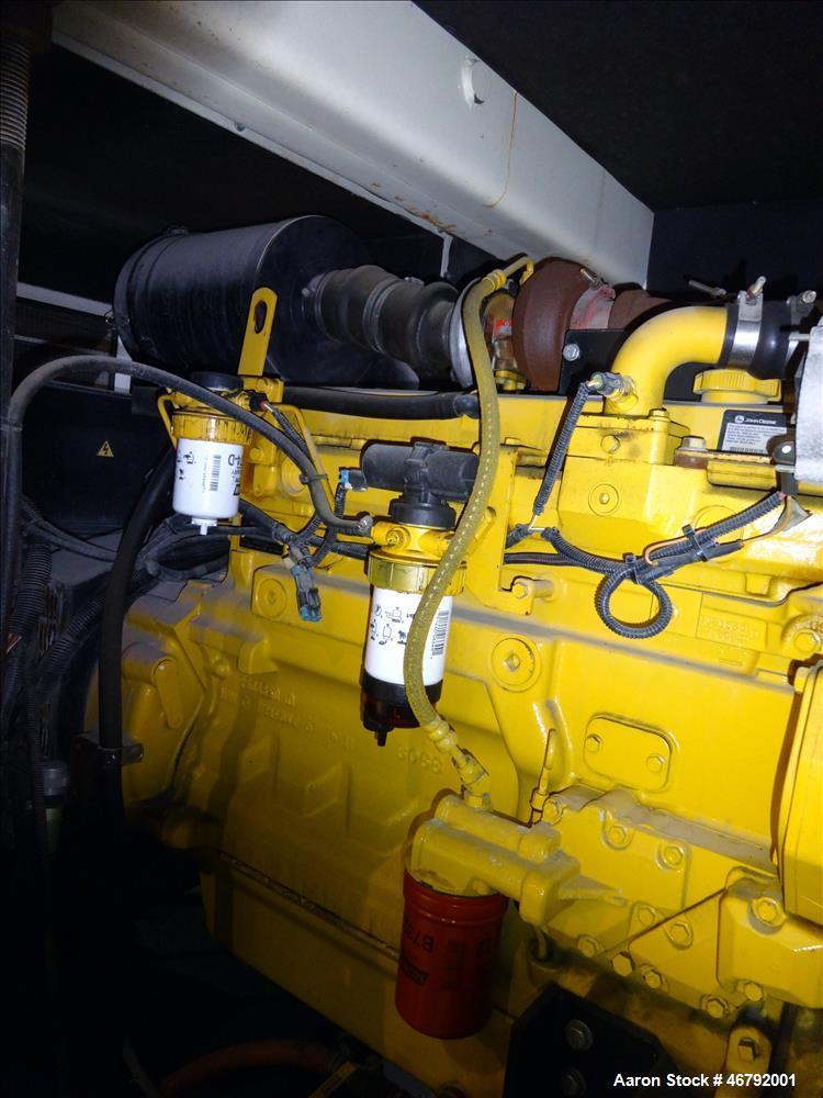 Used- Terex 145 kW portable generator model T180J. John Deere 6068HF275 engine