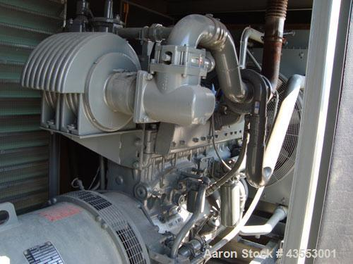 Used- Katolight 250 kW Natural Gas Generator Set, model 250FR24, serial #8052011, Cummins model GTA855B engine rated 383 hp ...