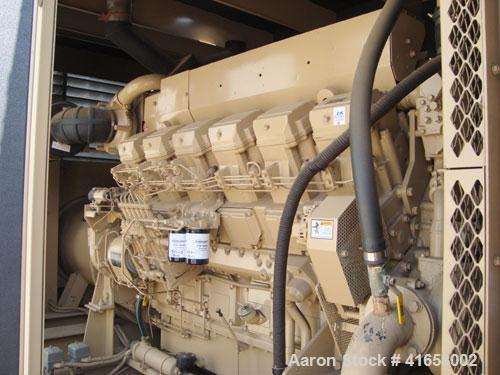 Used- Katolight 1250 kW Stand By / 1120 Prime Rated Diesel Generator Set. Katolight generator set model D1250FRY4. Mitsubish...