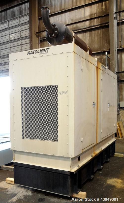 Used- Katolite 250 kW standby (220kW Prime) diesel generator set, model D250FPV4, SN-LM23961385193-1002. Volvo TAD1031GE eng...