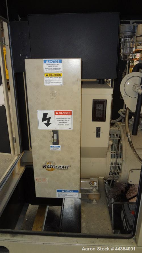 Used- Katolight 25 kW standby (20kW prime) diesel generator set model D25FDJ4T2, SN-140382. John Deere model 4042TF270 engin...