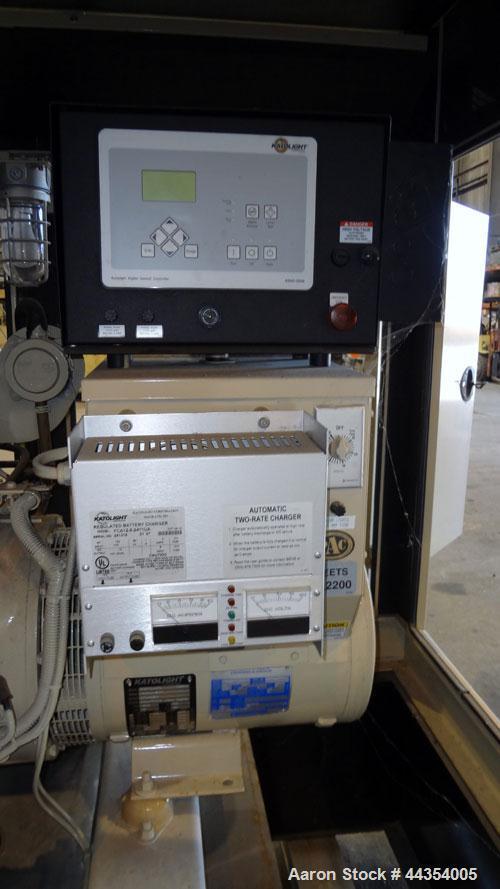 Used- Katolight 25 kW standby (20kW prime) diesel generator set model D25FDJ4T2 SN-140911-0107. John Deere model 4042TF270 e...