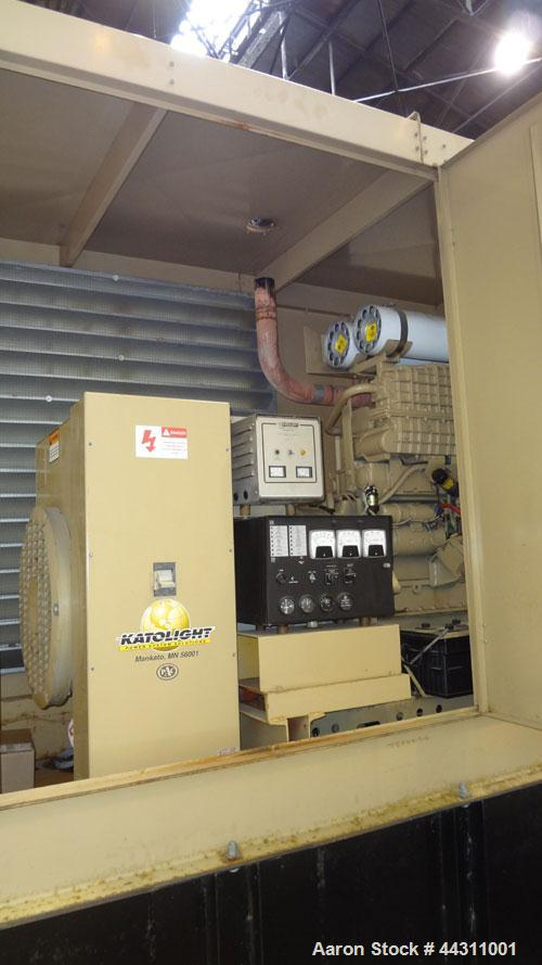 Used- Katolight 400 kW Standby (350 kW prime) Diesel Generator Set, model D400FRV4, Serial #LM235869. Volvo model TWD1630GP ...