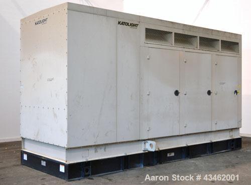 Used- Katolight 415 kW diesel generator set, model D415FRJ4, SN-WA537840-97232-0304, John Deere model 6125HF070 engine, EPA ...