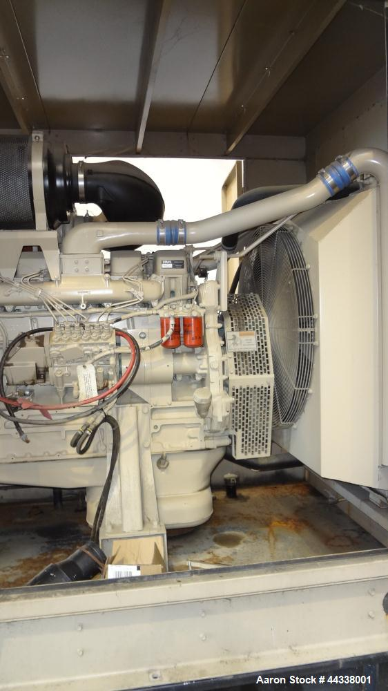 Used- Katolight 500 kW standby diesel generator set, model D500FPV4, SN-102590-1204. Volvo model TAD 1631GE engine rated 768...