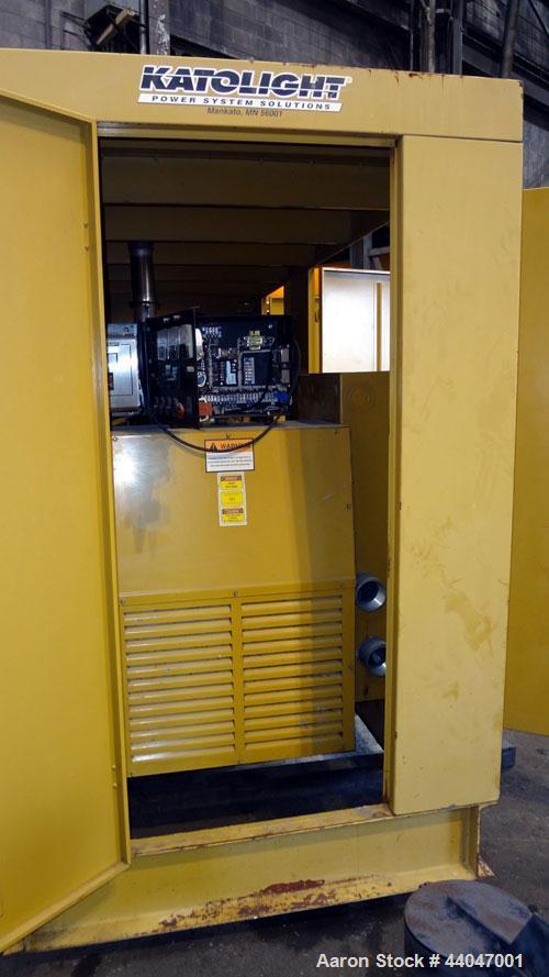 Used- Katolite 500 kW Standby Diesel Generator Set, Model D500FRV4, Serial WA52629765502. Volvo TAD1631GE engine rated 743 h...