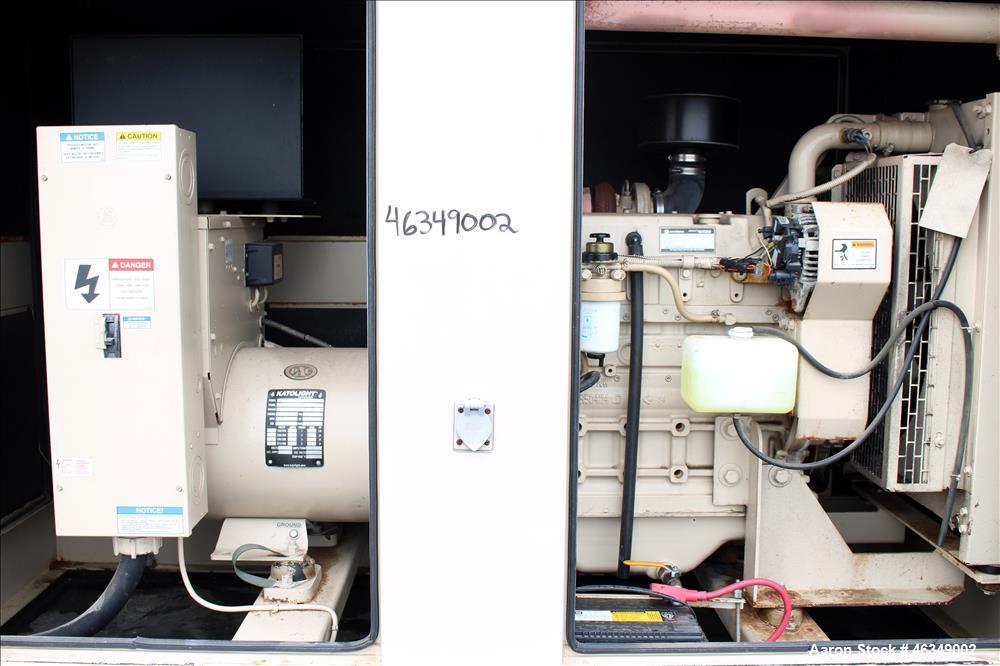 Used- Katolight / John Deere 50 kW portable / trailered diesel generator
