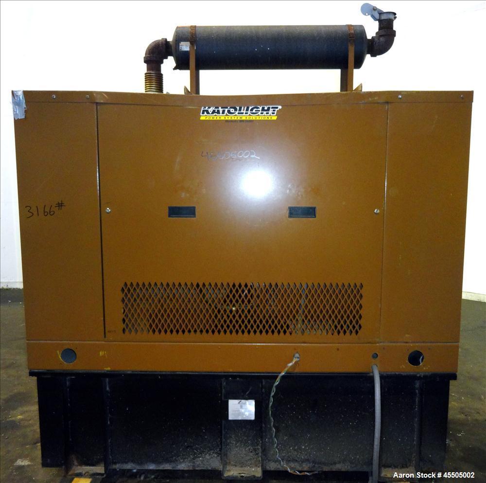 Used-John Deere/Katolight 50 kW Standby Diesel Generator Set, Model D50FPJ4