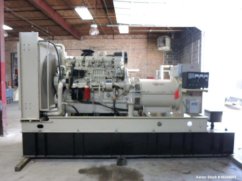 Used- Katolight / Mitsubishi 600 kW diesel generator, model D600FRY4. Mitsubishi