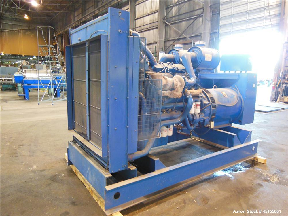 Used- Katolight 600 kW continuous rated diesel generator set, Model D675FRR4 SN-UB3461746 B-36017. Perkins / Rolls Royce  di...