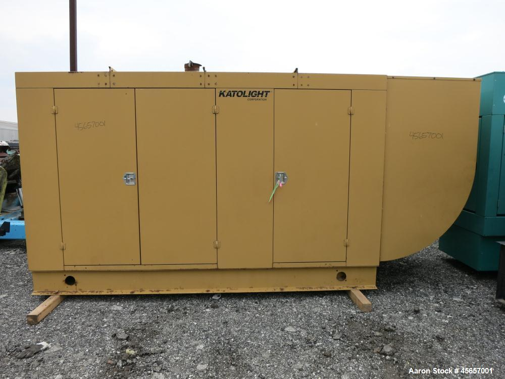 Used- Katolight / Cummins 250 kW natural gas generator. Cummins GTA14G1 engine.
