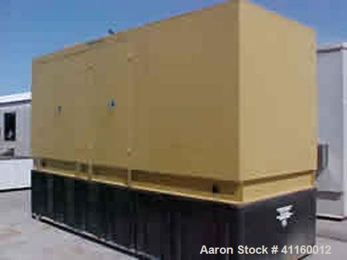 Used-Katolite 500 kW diesel generator set. MTU model 8V2000 engine. 3/60/277/480V, 1800 rpm, 12 lead. 1620 gallon sub-base f...
