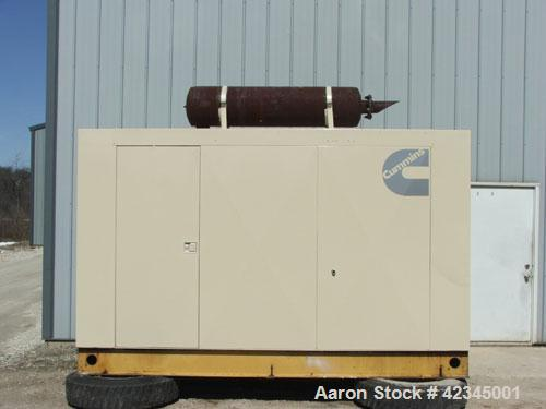 Used-Katolight Generator Set. Diesel powered. Engine is Cummings 855 Big Cam. 150 kW. 300 amp circuit breaker. 9 wire reconn...