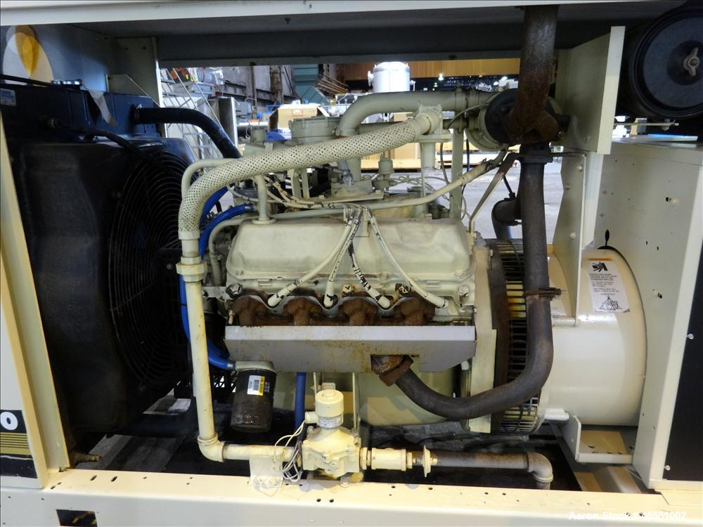 Used-Kohler 100 kW Standby Natural Gas Generator Set, Model 100RZ72