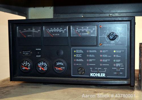Used- Kohler 100 kW standby diesel generator set, model 100REOZJ SN-626163.John Deere model 6068TF250 engine rated 166 HP @ ...