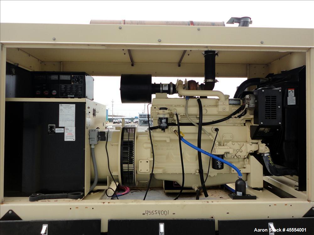 Used- Kohler 110 kW Standby Diesel Generator Set, Model 100REOZJB