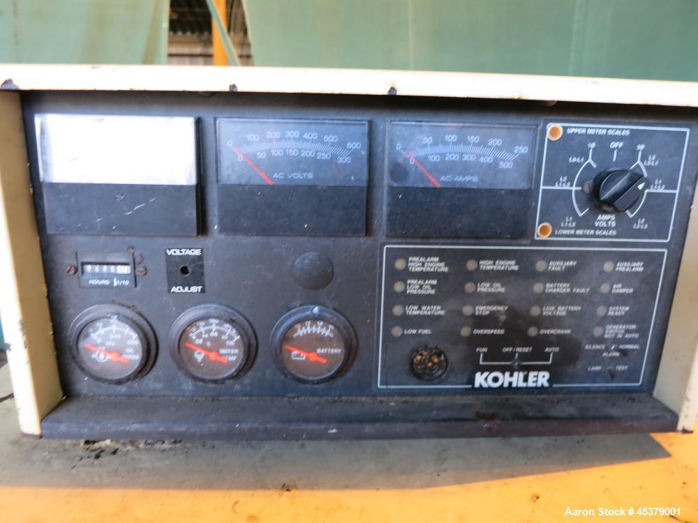 Used- Kohler 125kW Standby Diesel Generator Set, Model 125R0ZJ71