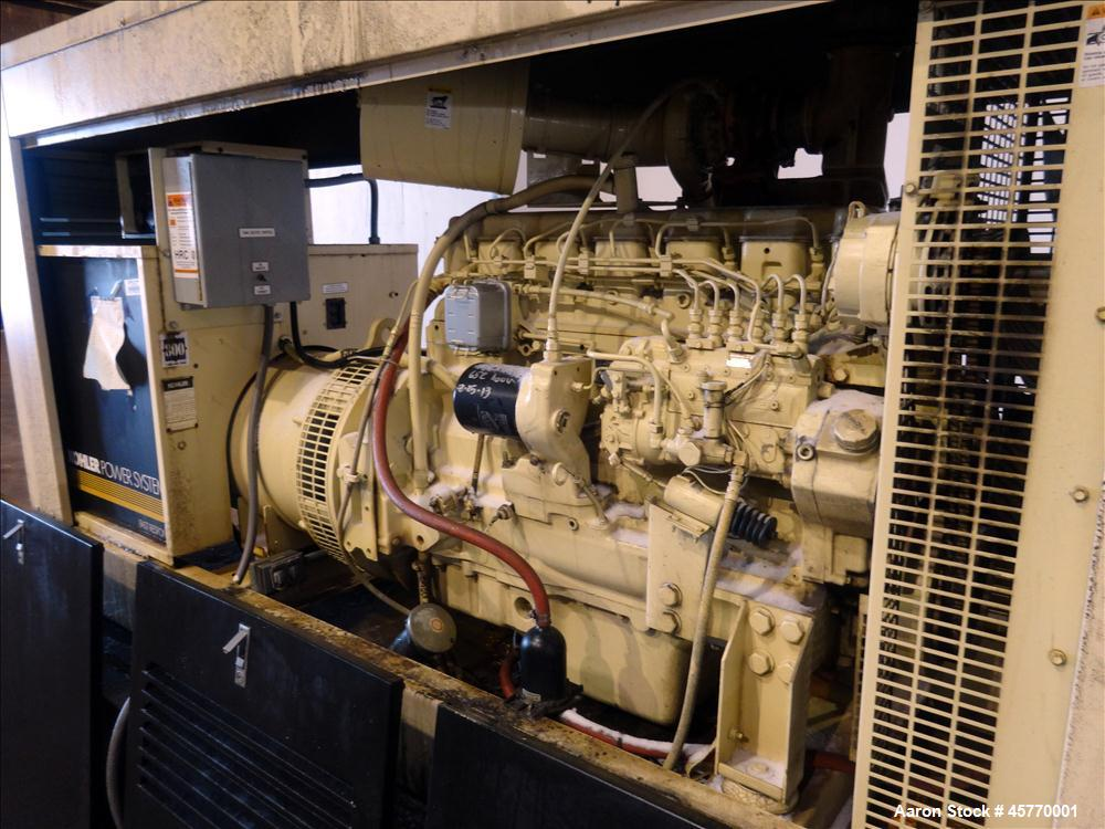 Used- Kohler 125 kW standby diesel generator set