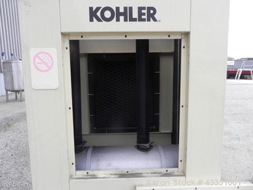 Used- Kohler 135 kW diesel generator set. Kohler model 135ROZJ, SN-705204. John Deere model 6081TF001 4-cycle engine rated 2...