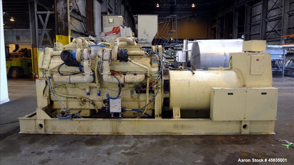 Used- Kohler 1500 kW Diesel Generator, 1500ROZD71, Detroit Diesel 16V-149TIB