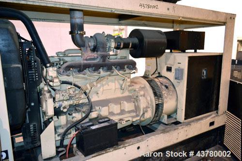 Used- Kohler 100 kW standby diesel generator set, model 100REOZJ SN-699799. John Deere model 6068TF250 engine rated 166 HP @...