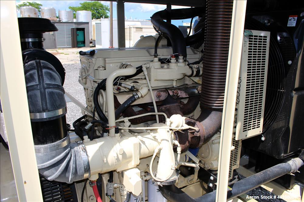 Used- Kohler / Detroit 180 kW natural gas generator. Detroit Diesel S60G natural