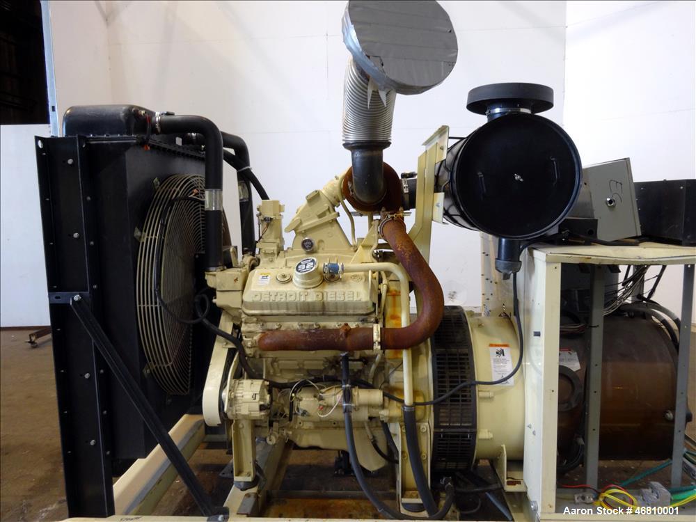 Used-Kohler 200 kW diesel generator model 230R0ZD. Detroit Diesel 6V-92T engine.