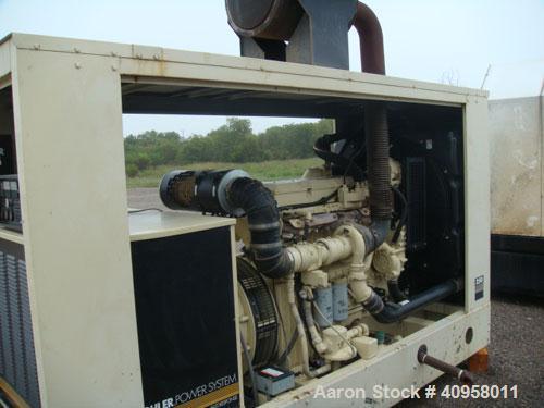 Used-Kohler 250 kW Natural Gas Generator Set, Kohler model 250RDZ, cat #PA-194265. 3/60/277-480V, Class H. Detroit natural g...
