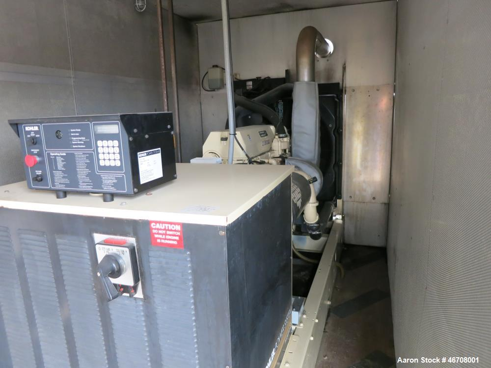 Used-Kohler 300 kW  portable rental diesel generator model 300REOZDN