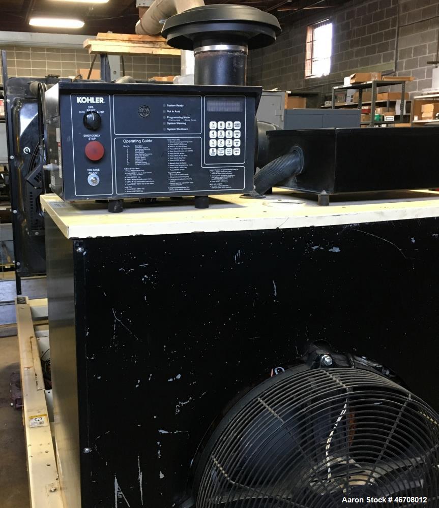Used- Kohler 300 kW standby (280 kW prime) diesel generator set, Model 300REOZDN