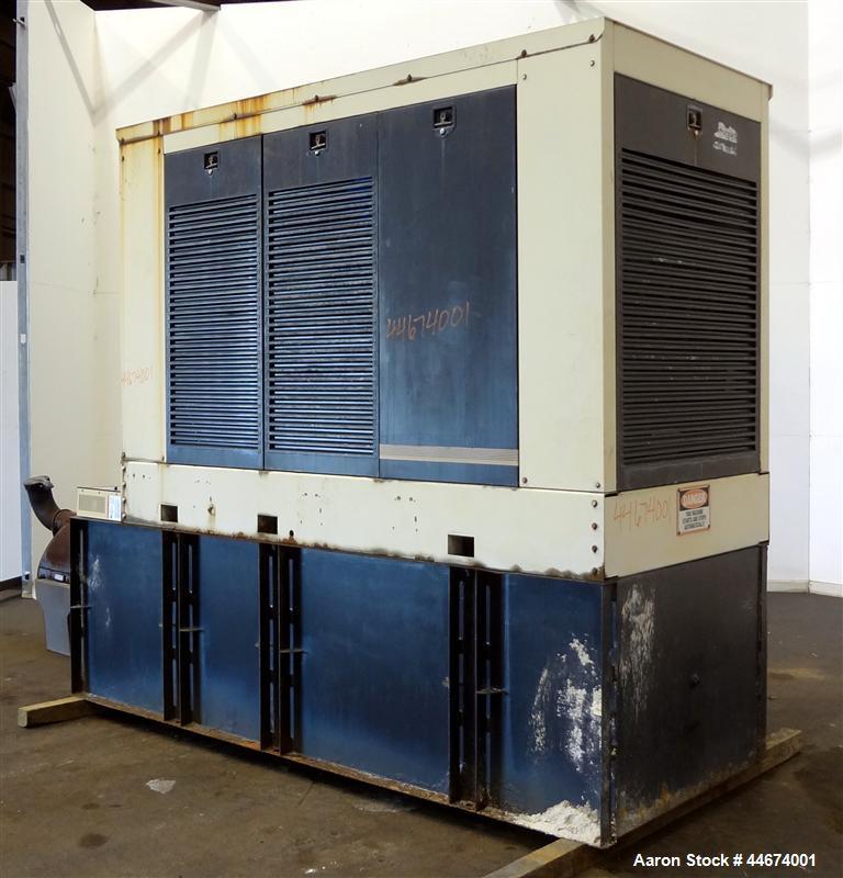 Used- Kohler 300 kW standby diesel generator set, model 300ROZD81 SN-384691. Detroit Diesel 6V-92TA engine rated 474 HP @ 18...