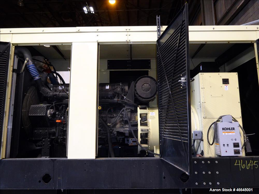 Used- Kohler / Volvo 505 kW Standby Diesel Generator Set