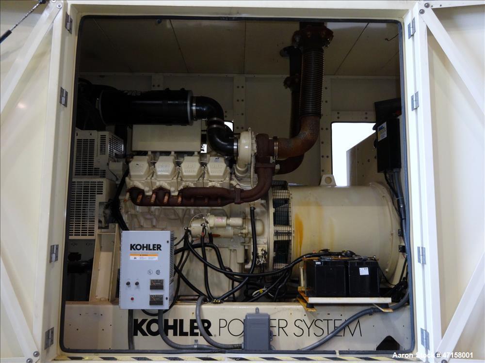 Used-Kohler 500 kW portable diesel   generator. MTU / Detroit Diesel 8V2000