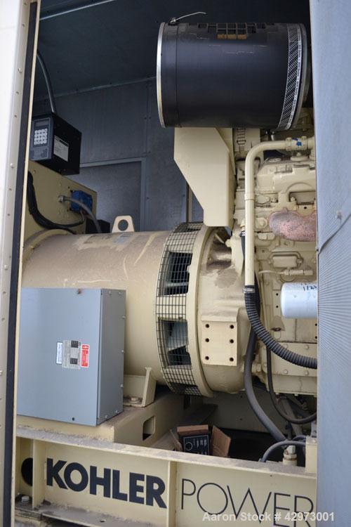 Used- Kohler 515kW diesel generator set. Kohler Model 500ROZD Serial 622118. Detroit Diesel 12V-92T rated 830 HP @ 1800 RPM....
