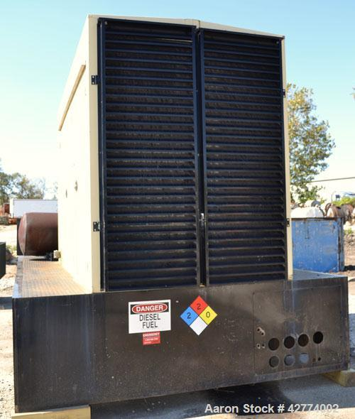 Used- Kohler 500kW Diesel Generator Set, Model 500ROZD71, Serial #395955. Detroit Diesel 12-92TA turbocharged aftercooled ra...