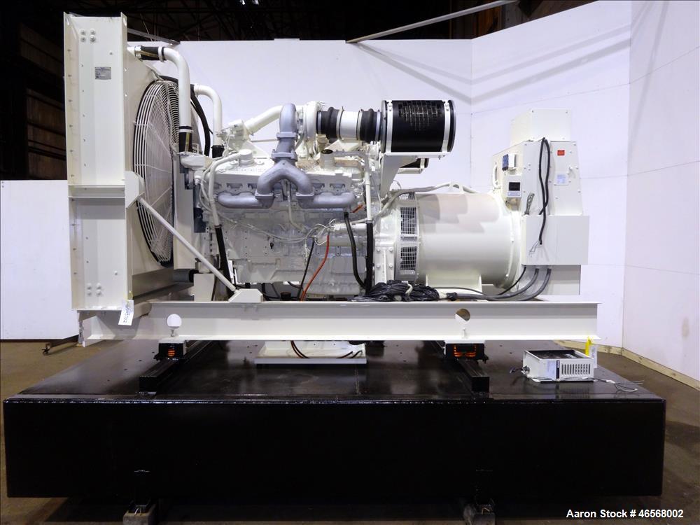 Used- Kohler 600kW standby (545 kW prime) diesel generator set, model 600ROZD71,