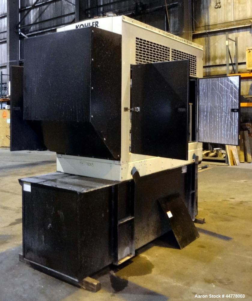 Used- John Deere/Kohler 58 kW Standby Diesel Generator Set, Model 60REOZJB