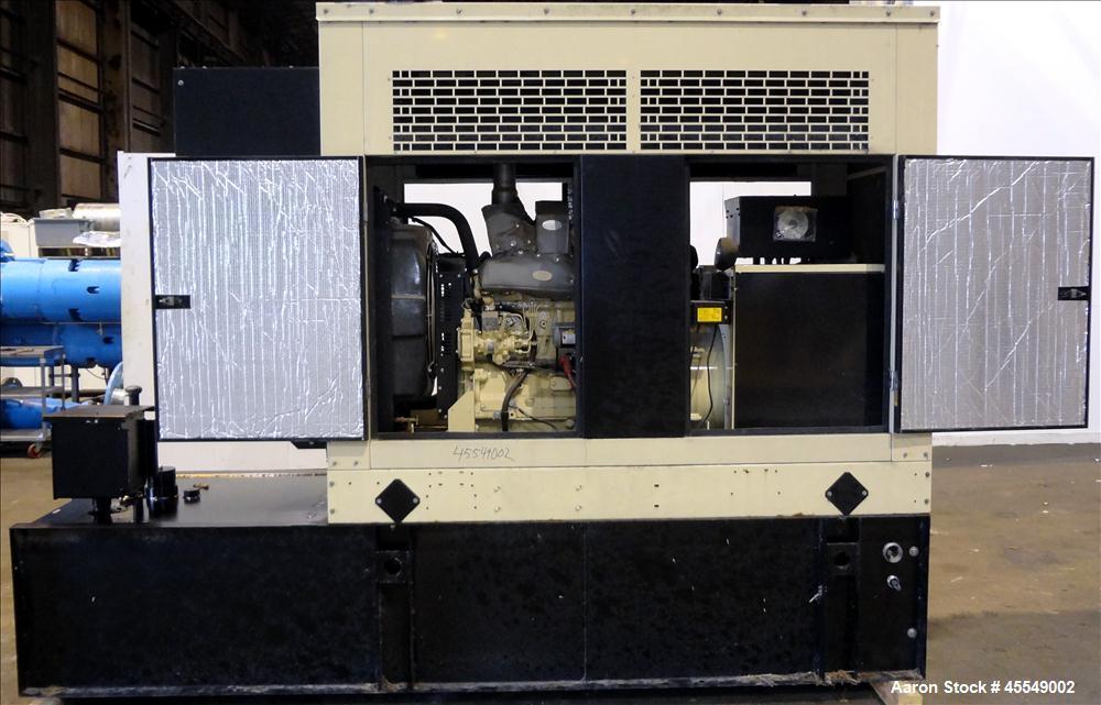 Used- Kohler / John Deere 58 kW diesel generator, model 60REOZJB. John Deere 404