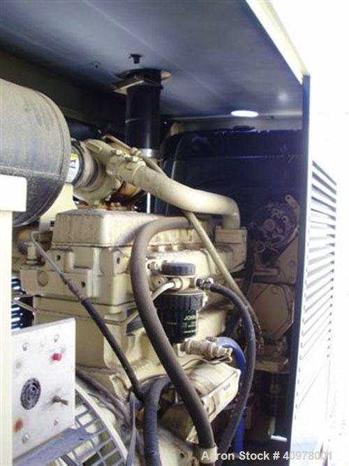 Used-Kohler 80 kW diesel generator set, model 80REOZ. 3/60/277-480V. Includes Asco ATS, battery charger, block heater, weath...